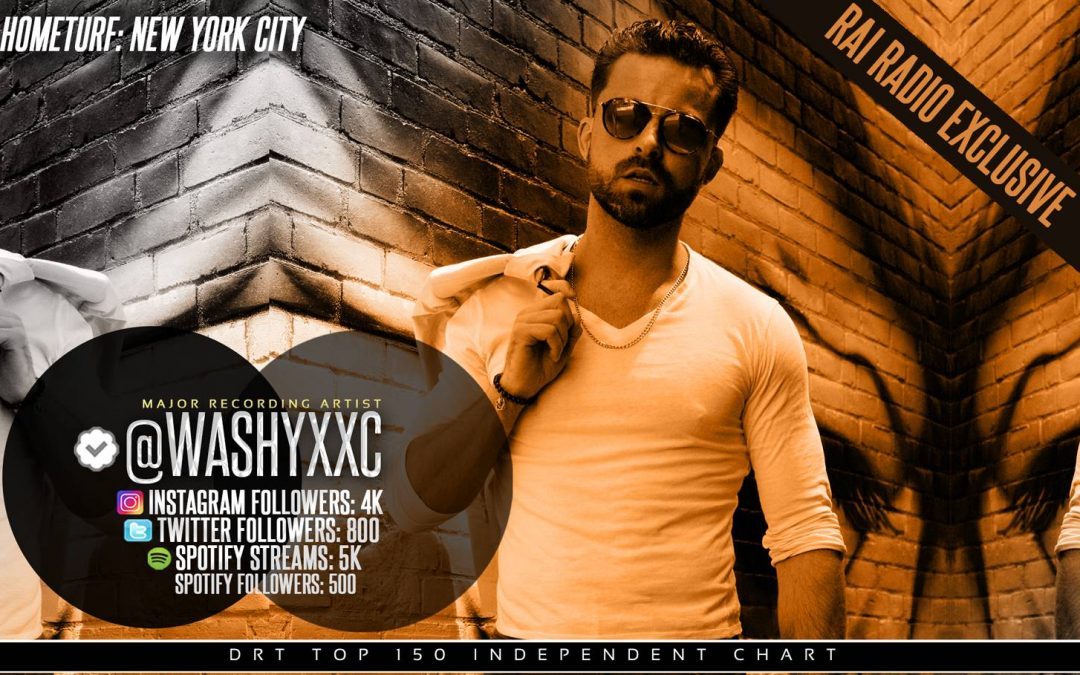 POP SENSATION WASHYXXC BREAKS DOWN HIS MUSIC GRIND & CREATIVITY WITH RNH MAG!