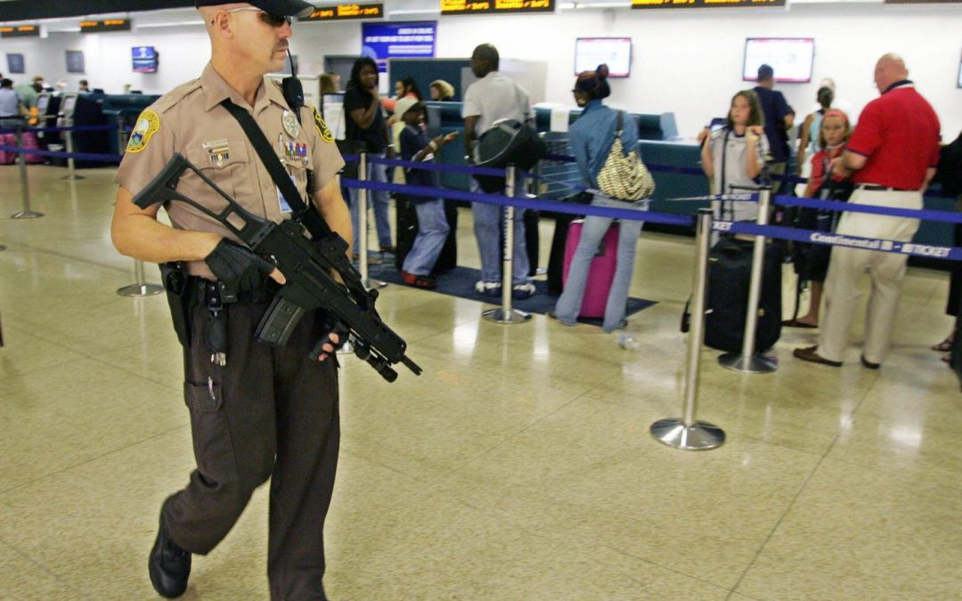 Cop found punching Black lady in the face at Miami airport terminal