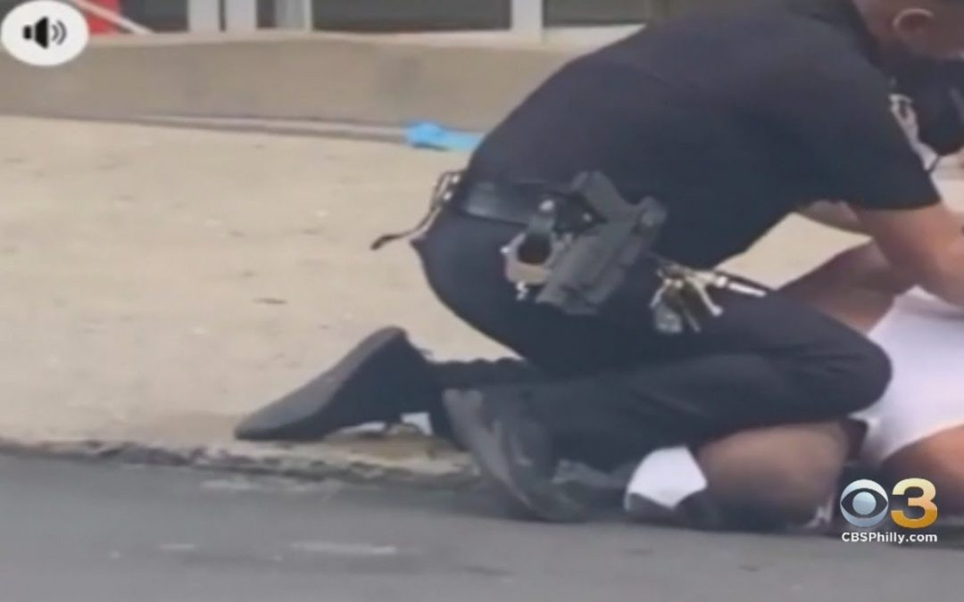 Examination in progress after video shows Allentown cop with his knee on man's neck