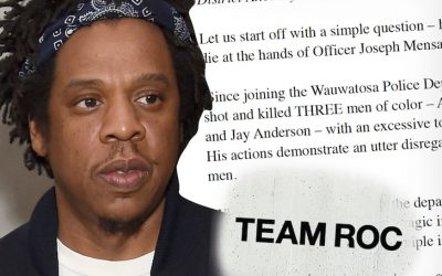JAY-Z requests indictment of Wisconsin cop who's executed three individuals