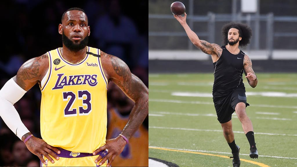 LeBron James says the NFL needs to apologize to Colin Kaepernick
