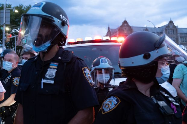 NYPD cop tases Black Lives Matter activist in Brooklyn