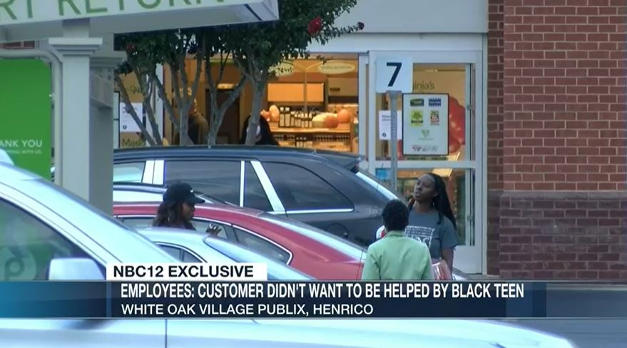 Customer will not let Black employee bag her groceries at Publix