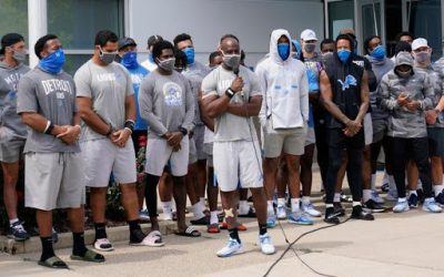 Detroit Lions Cancelled Practice to Protest Jacob Blake's Shooting