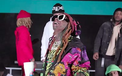 "Lil Wayne rides high inside the skate park in ""Thug Life"" video"