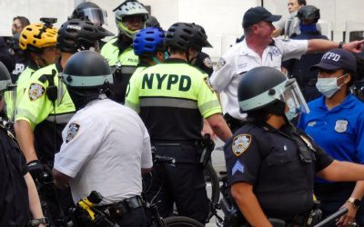 NYPD reacts to video of casually dressed officers pulling protestor into a plain marked van