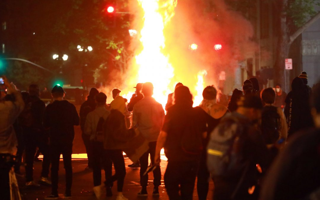 Richmond police say white supremacists acting like protestors ignited riots