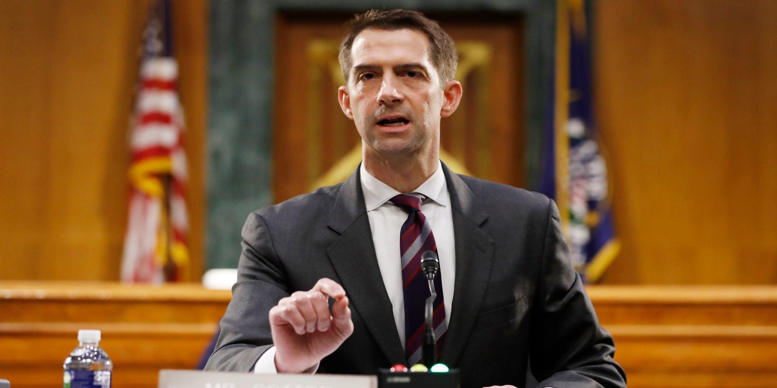 Sen. Tom Cotton faces massive criticism for necessary evil of slavery remarks