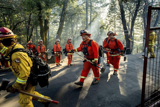 California governor signs bill to help former inmates become firefighters
