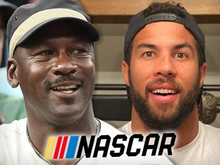 MICHAEL JORDAN & DENNY HAMLINSTARTING A NEW NASCAR TEAM