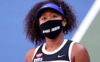 Naomi Osaka wears Ahmaud Arbery mask during US Open