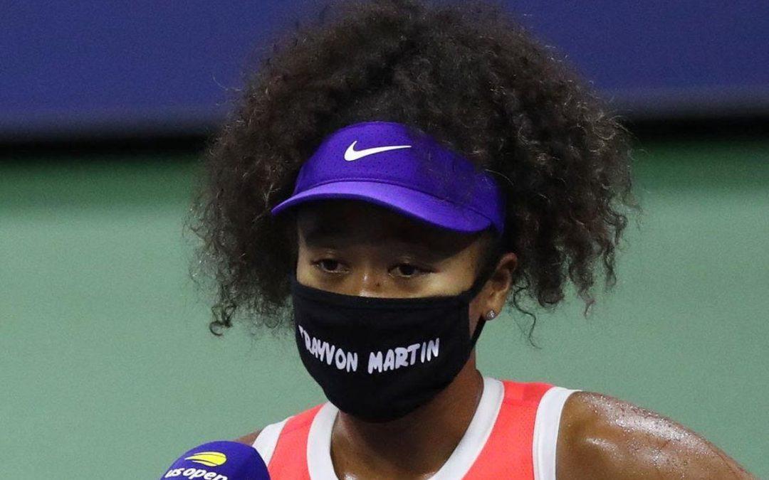 Naomi Osaka wears Trayvon Martin mask to U.S. Open