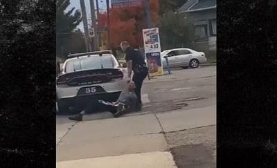 BLMCOP DRAGS HANDCUFFED BLACK TEEN OVER CONCRETE… Gets Paid Suspension