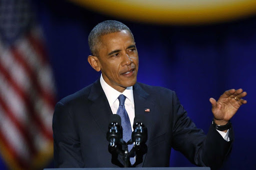 Barack Obama slams Donald Trump in his return to the campaign trail