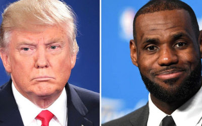 "Donald Trump called LeBron James a ""hater"" and criticized him being outspoken"