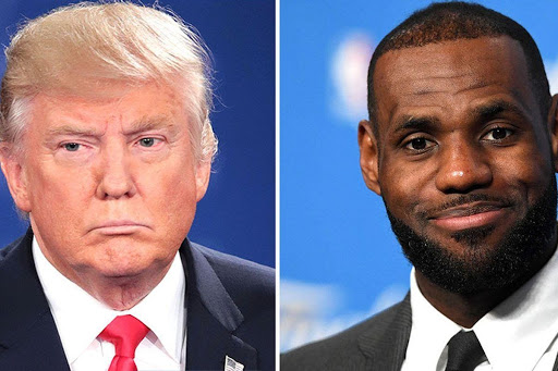 """Donald Trump called LeBron James a """"hater"""" and criticized him being outspoken"""