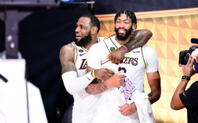 LeBron James and LA Lakers win 2020 NBA Championship