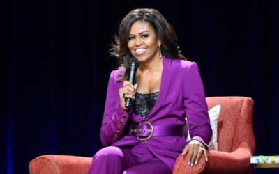Michelle Obama releases her hip hop voting playlist