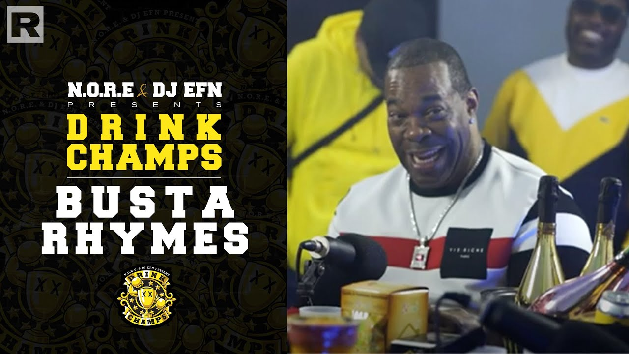Busta Rhymes On Working With Mariah Carey, Janet Jackson, His New Album & More | Drink Champs