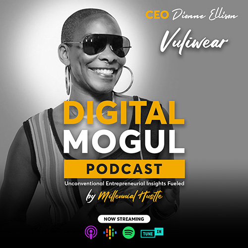 CEO DIONNE ELLISON unlocking the power of VULIWEAR eyewear   Digital Mogul Podcast