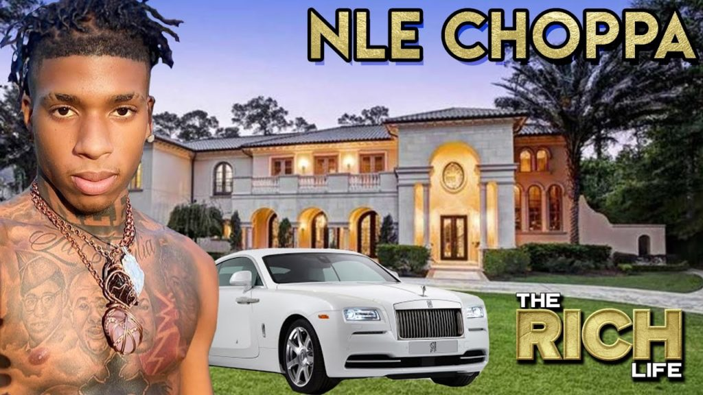 NLE CHOPPA   THE RICH LIFE   ROLLS ROYCE, HOUSE, CHAINS & $3 MILLION IN THE BANK