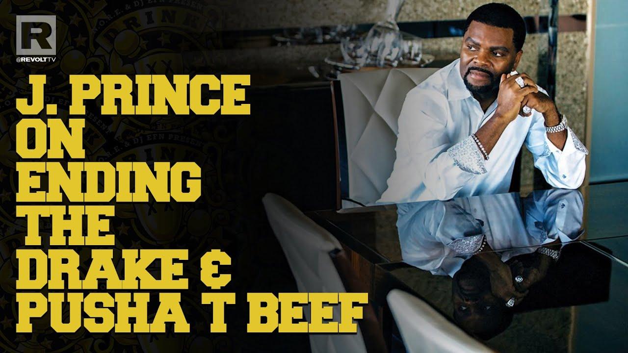 J Prince Talks Drake & Pusha T Beef & The Infamous Drake Diss Track