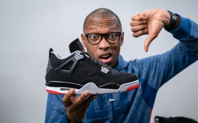 """People Are MAD At The AIR JORDAN 4 """"BRED"""" For The WORST Reason 