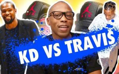 LET'S KEEP IT HONEST…Kevin Durant Can't Do It Like Travis Scott