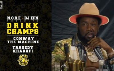 CONWAY THE MACHINE & TRAGEDY KHADAFI ON GRISELDA, PRODIGY & MORE   DRINK CHAMPS