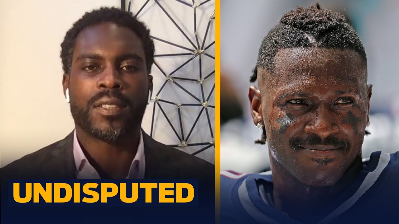 I believe Antonio Brown is a great fit with Brady & Buccaneers — Michael Vick   NFL   UNDISPUTED