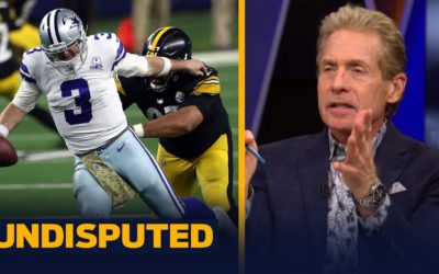 Skip Bayless reacts to Cowboys being 'robbed' against Steelers in WK 9 | NFL | UNDISPUTED