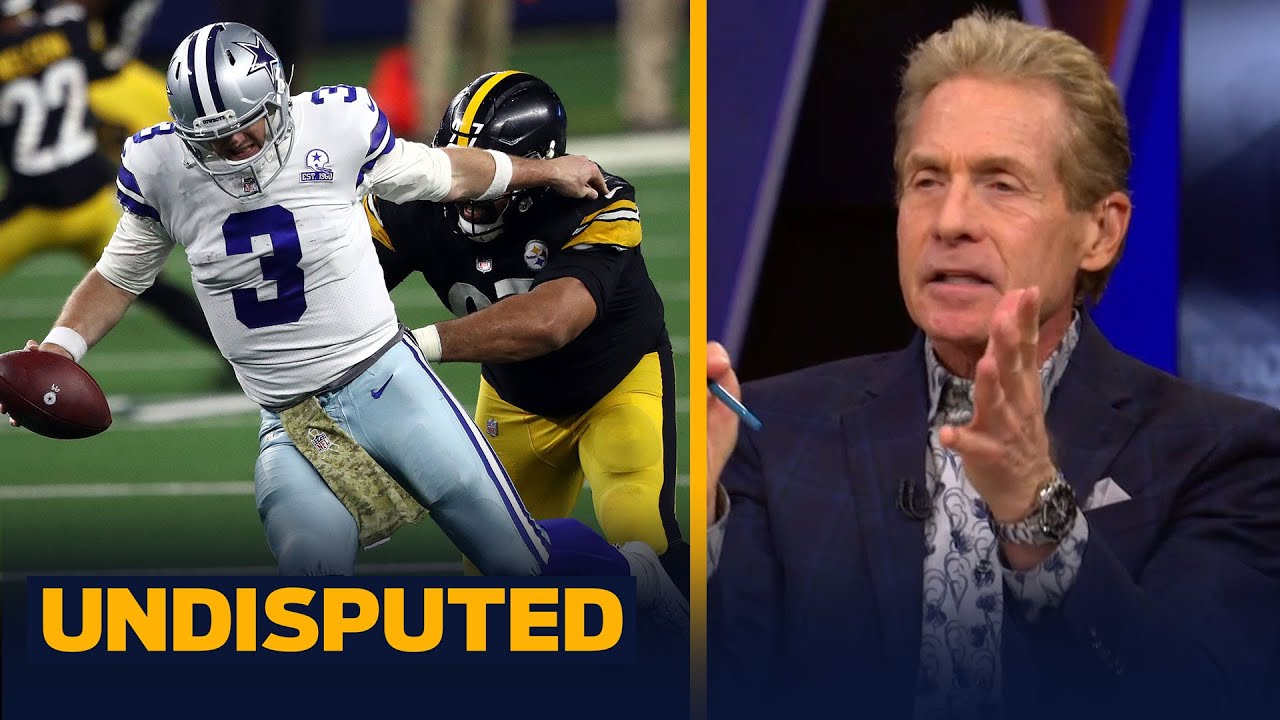 Skip Bayless reacts to Cowboys being 'robbed' against Steelers in WK 9   NFL   UNDISPUTED