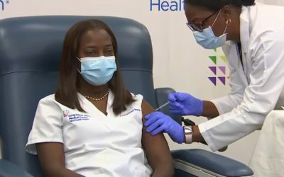 BLACK NYC NURSE BECOMES ONE OF THE FIRST RECIPIENTS OF CORONAVIRUS VACCINE