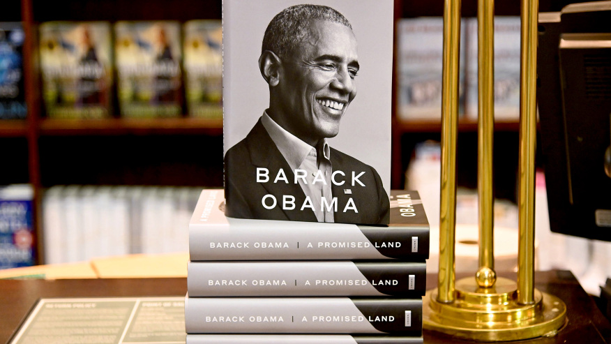 In one day, Barack Obama's Memoir Sells Nearly about Million Copies