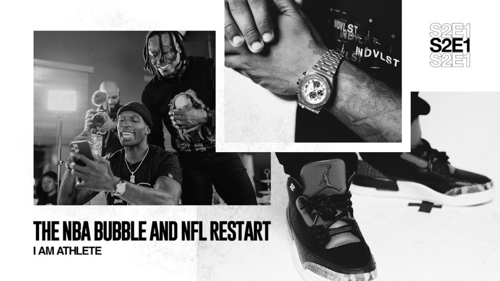 THE NBA BUBBLE & NFL RESTART   I AM ATHLETE (S2E1)