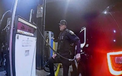 """COP CAUGHT ON CAMERA CLAIMING BLACK PEOPLE ARE """"THE WORST FUCKING RACE"""""""