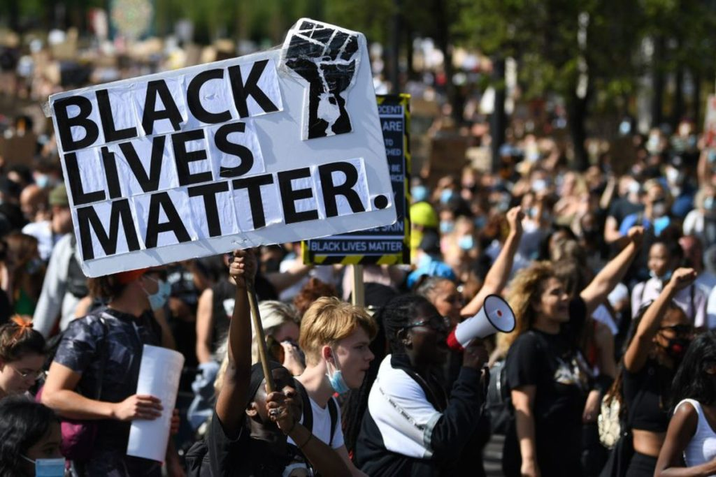 BLM Signs' Burning in DC Being Investigated as Hate Crimes
