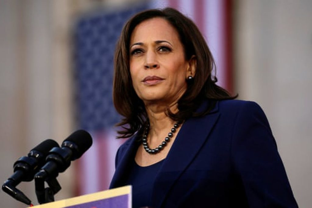 MICHIGAN COP FIRED AS HE POSTED SOMETHING WHERE KAMALA HARRIS WAS DEPICTED AS WATERMELON JACK-O'-LANTERN