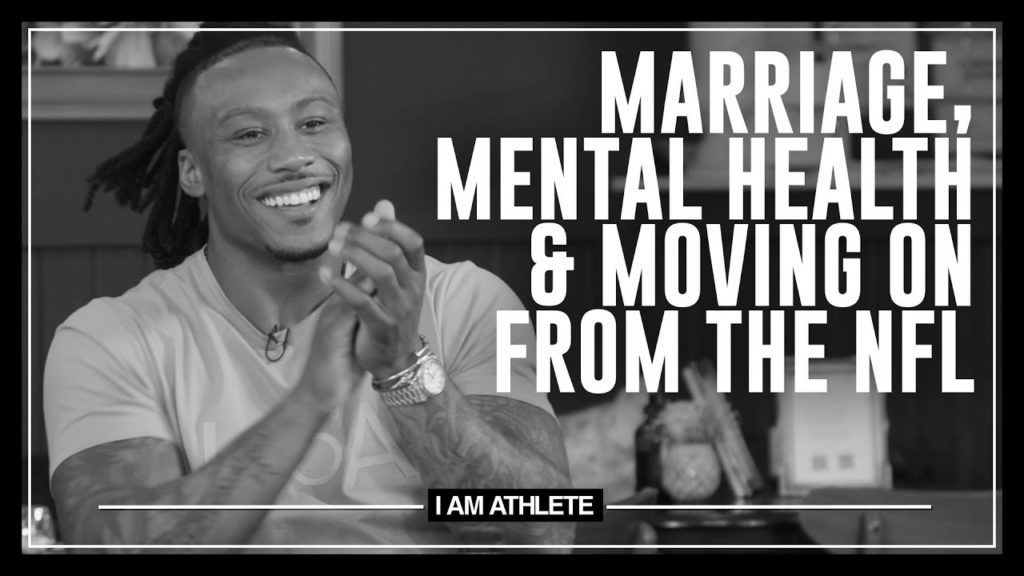 MARRIAGE, MENTAL HEALTH & MOVING ON FROM THE NFL | I AM ATHLETE (S2E12)