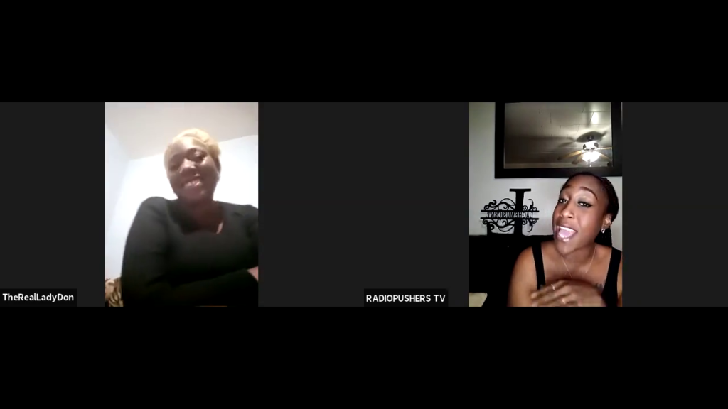 DREAMHUSTLEWIN PODCAST FEATURING LADY DON   HOSTED BY LAGHE   EP #34