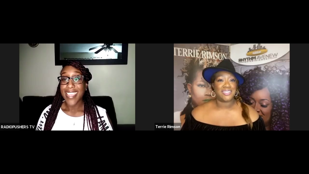 DREAMHUSTLEWIN PODCAST FEATURING TERRIE RIMSON   HOSTED BY LAGHE   EP #35
