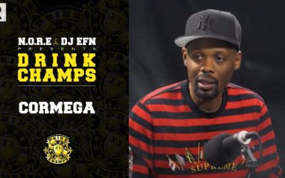 CORMEGA TALKS HIS CAREER, SHARES STORIES OF BIG PUN, NAS, THE FIRM & MORE | DRINK CHAMPS