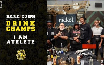 'I AM ATHLETE' PODCAST ON THE NFL AND SPORTS INDUSTRY, LEBRON JAMES, BLM AND MORE | DRINK CHAMPS