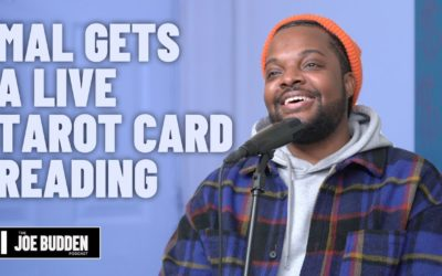 MAL GETS A LIVE TAROT CARD READING | THE JOE BUDDEN PODCAST