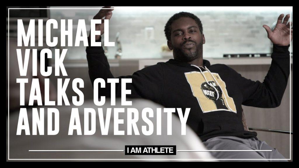 MICHAEL VICK TALKS CTE & ADVERSITY   I AM ATHLETE (S2E19)