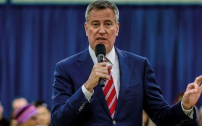 BILL DE BLASIO ANNOUNCES NYC'S TERMINATION EVERY CONTRACT WITH THE TRUMP ORGANIZATION