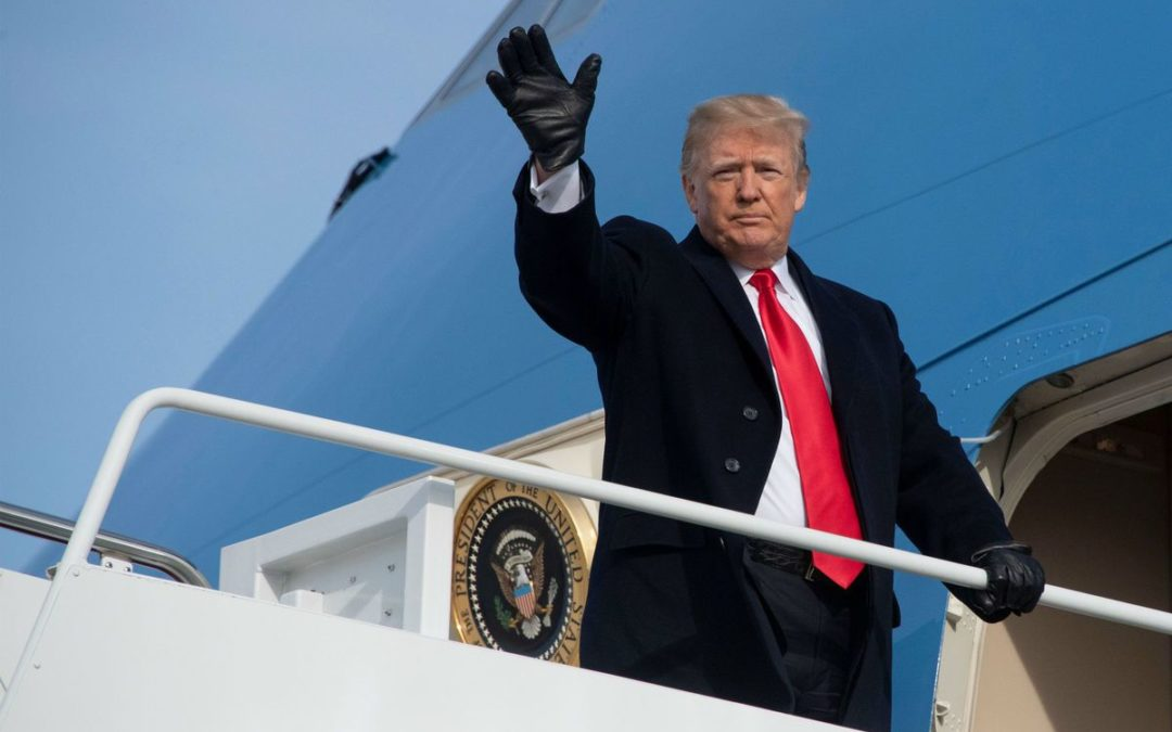 TWITTER RESPONDS TO DONALD TRUMP LEAVING THE WHITE HOUSE