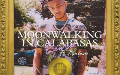 "DDG'S ""MOONWALKING IN CALABASAS (REMIX)"" FEATURING BLUEFACE CERTIFIED GOLD"