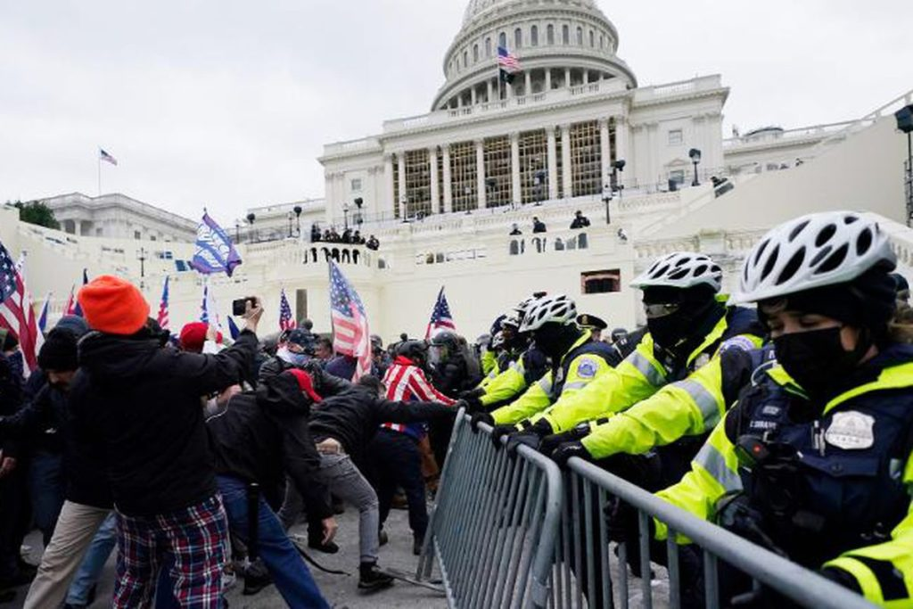 HOW WOULD THE SCENARIO BE DIFFERENT IF BLACK PEOPLE STORMED THE CAPITOL?