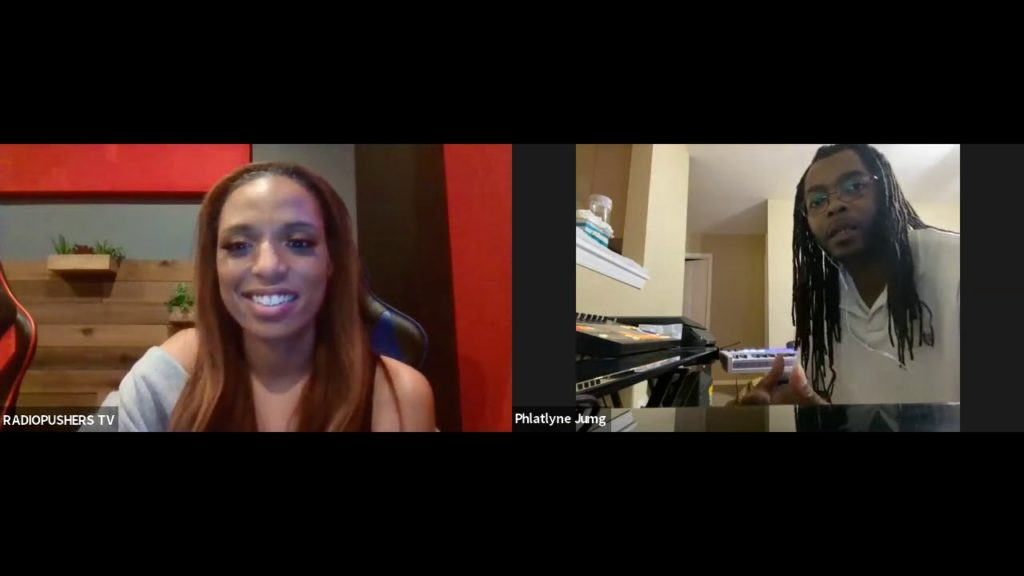 DREAMHUSTLEWIN PODCAST FEATURING PHLATLYNE   HOSTED BY KAREESH FORREAL   EP #57